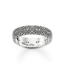 Thomas Sabo Dreamcatcher Ornamention Ring Sterling Silver