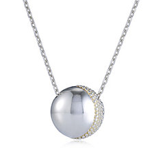 Links of London Masquerade Ball Pendant & 45cm Necklace Sterling Silver