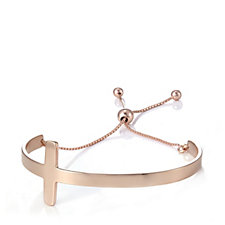 Bronzo Italia Horizontal Cross Friendship Bracelet