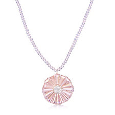 Frank Usher AB Crystal Flower 80cm Necklace