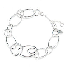 Links of London Aurora Multi Link 19-22cm Bracelet Sterling Silver