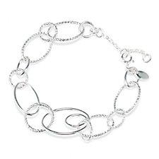 306274 - Links of London Aurora Multi Link 19-22cm Bracelet Sterling Silver