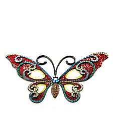 Butler & Wilson Large Butterfly Brooch