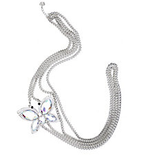 Butler & Wilson Crystal Butterfly Body Chain