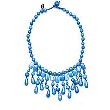 Lola Rose Roma Semi Precious 54cm Necklace