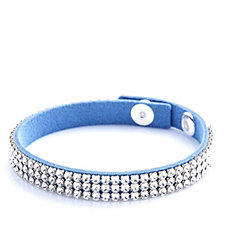 Crystal Glamour with Swarovski Crystals Adjustable Bracelet