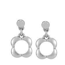 Orla Kiely Open Flower Drop Earrings