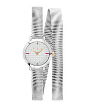 Furla Ladies Vittoria Mesh Strap Watch