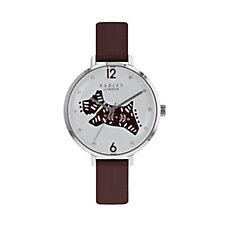 Radley London Big Folk Dog Leather Strap Watch