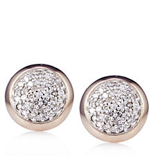 Links of London Diamond Essentials Round Stud Earrings Sterling Silver