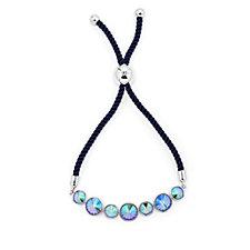 Aurora Swarovski Crystal Seven Stone Friendship Bracelet