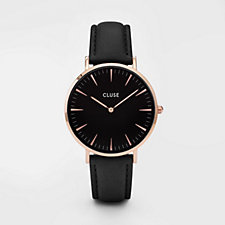 Cluse La Boheme Interchangeable Leather Strap Watch