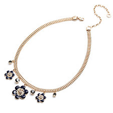 Pilgrim Classic Statement Flower 38cm Necklace