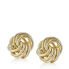 Bronzo Italia Rosetta Stud Earrings