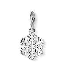 Thomas Sabo Charm Club Snowflake Charm Sterling Silver