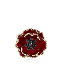 The Poppy Collection Brooch by Bill Skinner