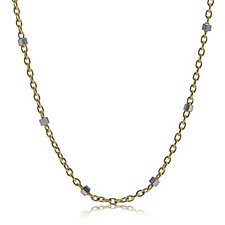 9ct Gold Sparkle Station 45cm Chain