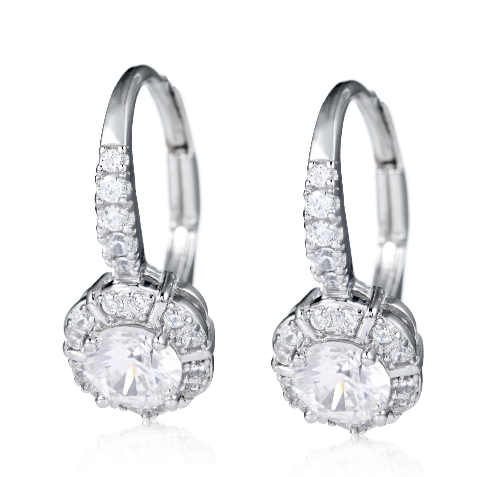 Diamonique — Earrings — Jewellery QVC UK
