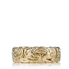 Bronzo Italia Byzantine Band Ring