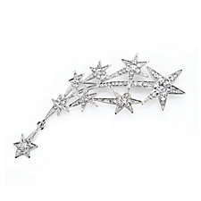 Butler & Wilson Crystal Star Spray Brooch