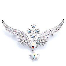 308079 - Butler & Wilson Crystal Wing Brooch
