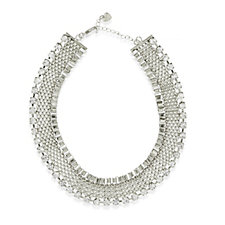 Loverocks Crystal Chain 40cm Necklace