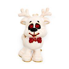 Butler & Wilson Happy Reindeer Brooch