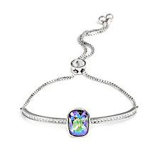 Aurora Swarovski Crystal Statement Stone Bar Bracelet
