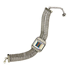 Butler & Wilson Statement Crystal Chain 32cm Necklace