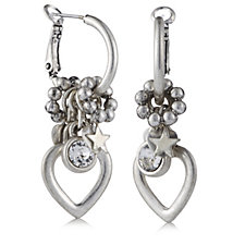 308180 - Bibi Bijoux Heart Charm Earrings