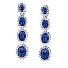 Elizabeth Taylor Detachable Drop Earrings