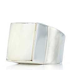 330280 - Taxco Traditions Artisan Square Gem Ring Sterling Silver