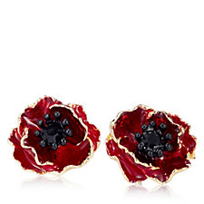 The Poppy Collection Stud Earrings by Bill Skinner