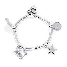 Bibi Bijoux Bar & Bead Charm Bracelet