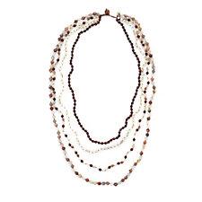 Lola Rose Jadelyn Multi Strand Semi Precious Necklace