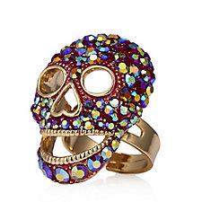 Butler & Wilson Crystal Skull Ring