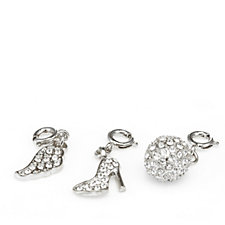 loveRocks Crystal Charm Set