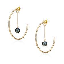 Lola Rose Katrina Semi Precious Hoop Earrings