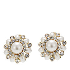Roberto by RFM Simulated Pearl Earrings