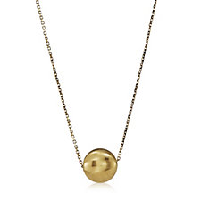 9ct Gold Aurora Bead 45cm Necklace