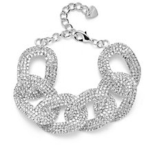 Loverocks Curb Chain Link Bracelet