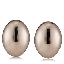 Bronzo Italia Oval Stud Earrings