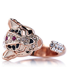 JM by Julien Macdonald Safari Collection Leopard Ring