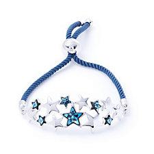 Aurora Swarovski Crystal Star Cluster Friendship Bracelet