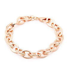 Bronzo Italia Marquise Link 21cm Bracelet