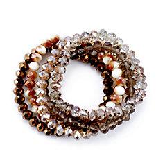 Buckley London Set of 5 Beaded Bracelets
