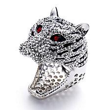 Butler & Wilson Crystal Leopard Ring