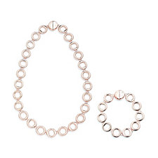 Roberto by RFM Convertible Cerchio Doro Necklace & Bracelet Set