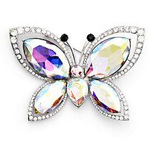 Butler & Wilson Crystal Wings Brooch