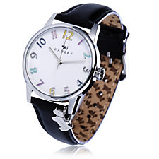 Radley London Ladies Blair Dog Charm Leather Strap Watch